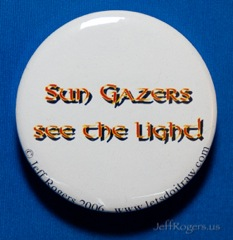 Sun gazers see the light